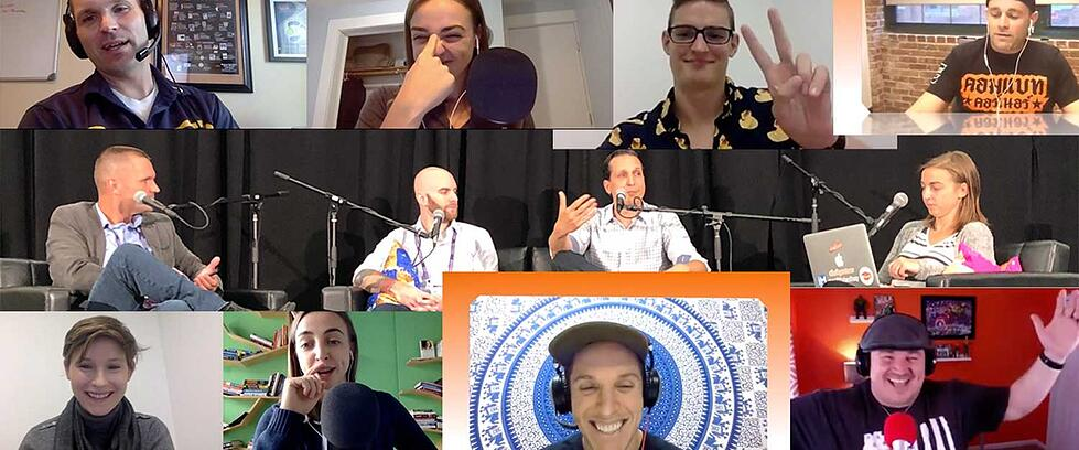 Hubcast 200: HubSpot Brain Teasers, Multilingual Love, & a Whole Lot of Gratitude!