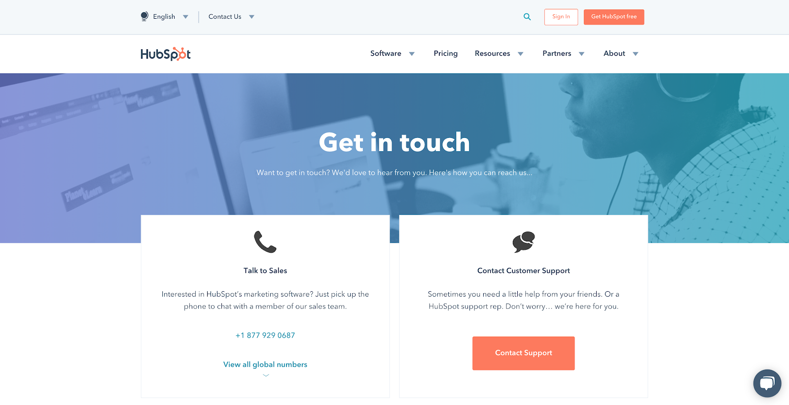 25 best contact us page examples to inspire yours Personal Links Page hubspot contact us