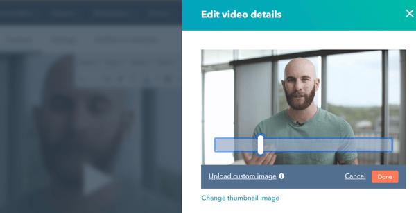 HubSpot Video Thumbnail Customization