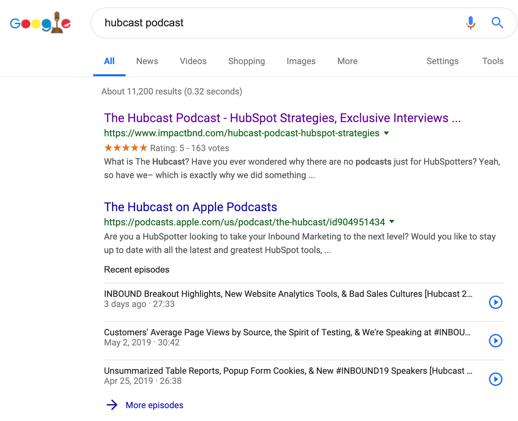 Hubcast-Desktop-Search-Results