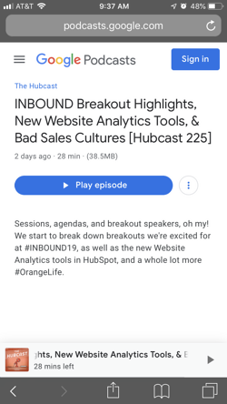 Hubcast-Podcast-Listing