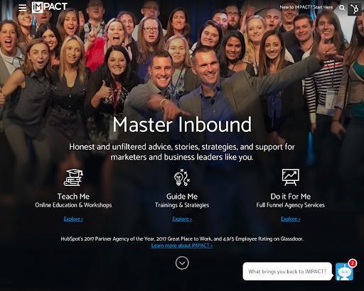 IMPACT Homepage v2