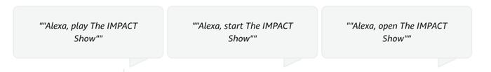 IMPACT-Alexa-Commands