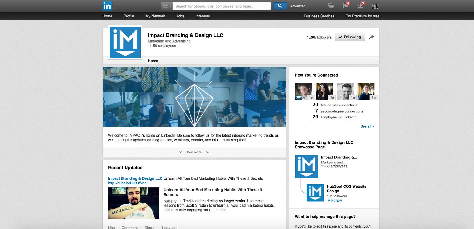 linkedin social media marketing