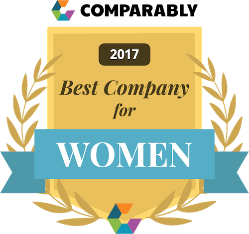 Comparably Best Company for Woman