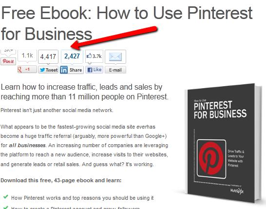 Hubspot Pinterest eBook