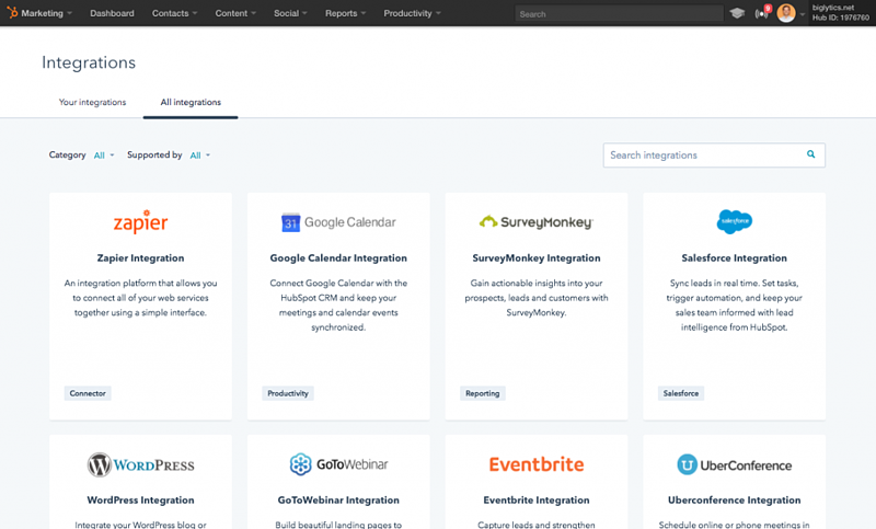 Hubcast - HubSpot Integrations