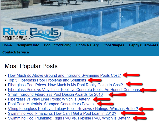 Popular River Pools Posts