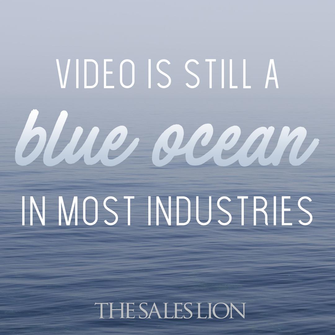 Video Is Still A Blue Ocean