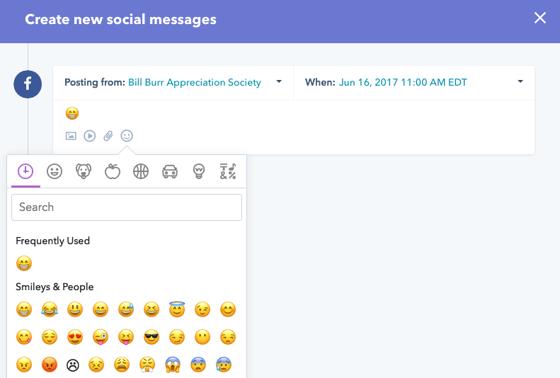 HubSpot Emojis Social