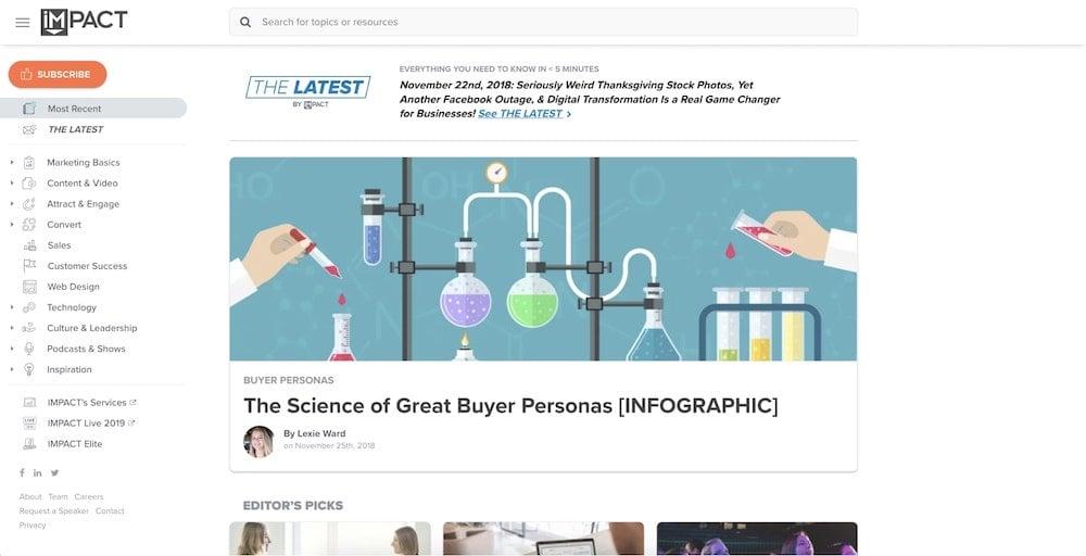IMPACT Homepage