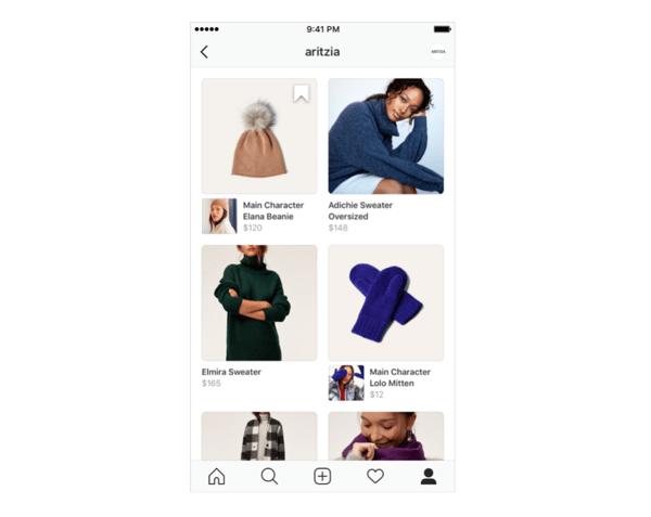 Instagram Shop on Business Profiles