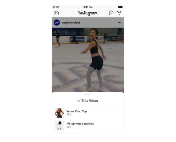 Instagram Shopping in Feed Videos