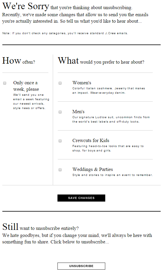 JCrew-Unsubscribe-Page