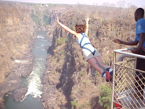 Kathleen Booth Bungee Jumping