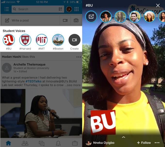 LinkedIn-Stories-Student-Voices-Screenshot