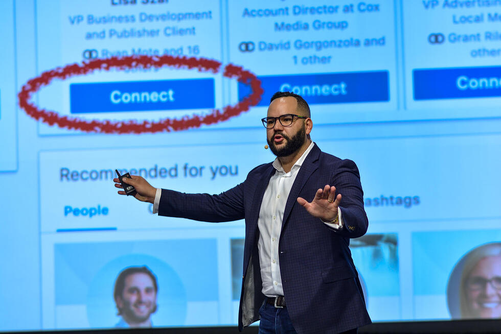 """""""Mastering LinkedIn for sales and marketing ft. Marcus Murphy of DigitalMarketer"""" (Inbound Success Ep. 133)"""