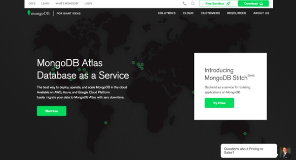 MongoDB-Website-Chatbot-Example