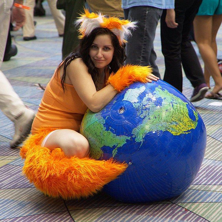 Mozilla Firefox Costume