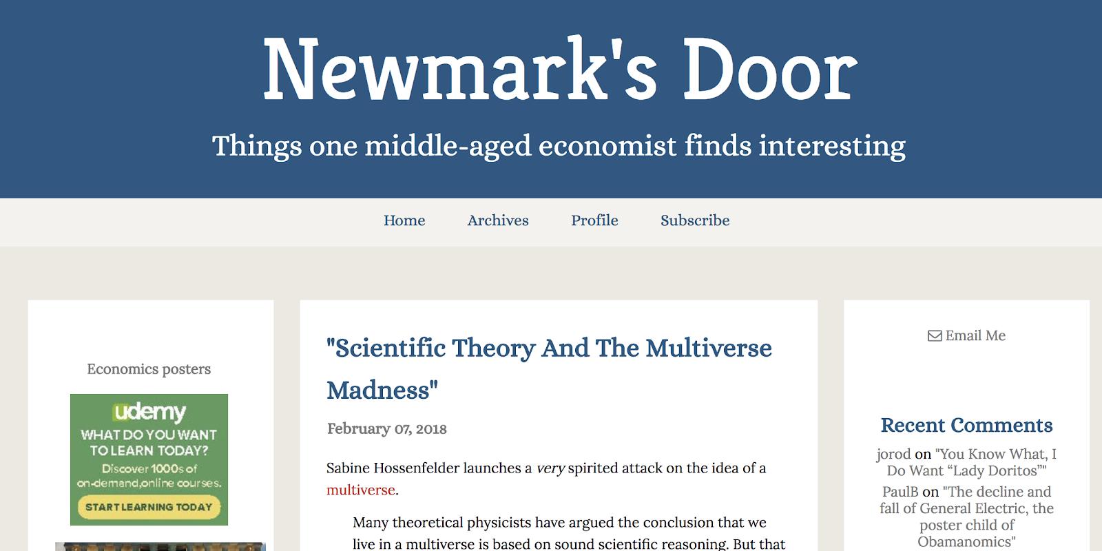 Newmarks door