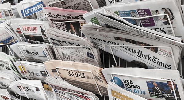 Newspaper-Stand