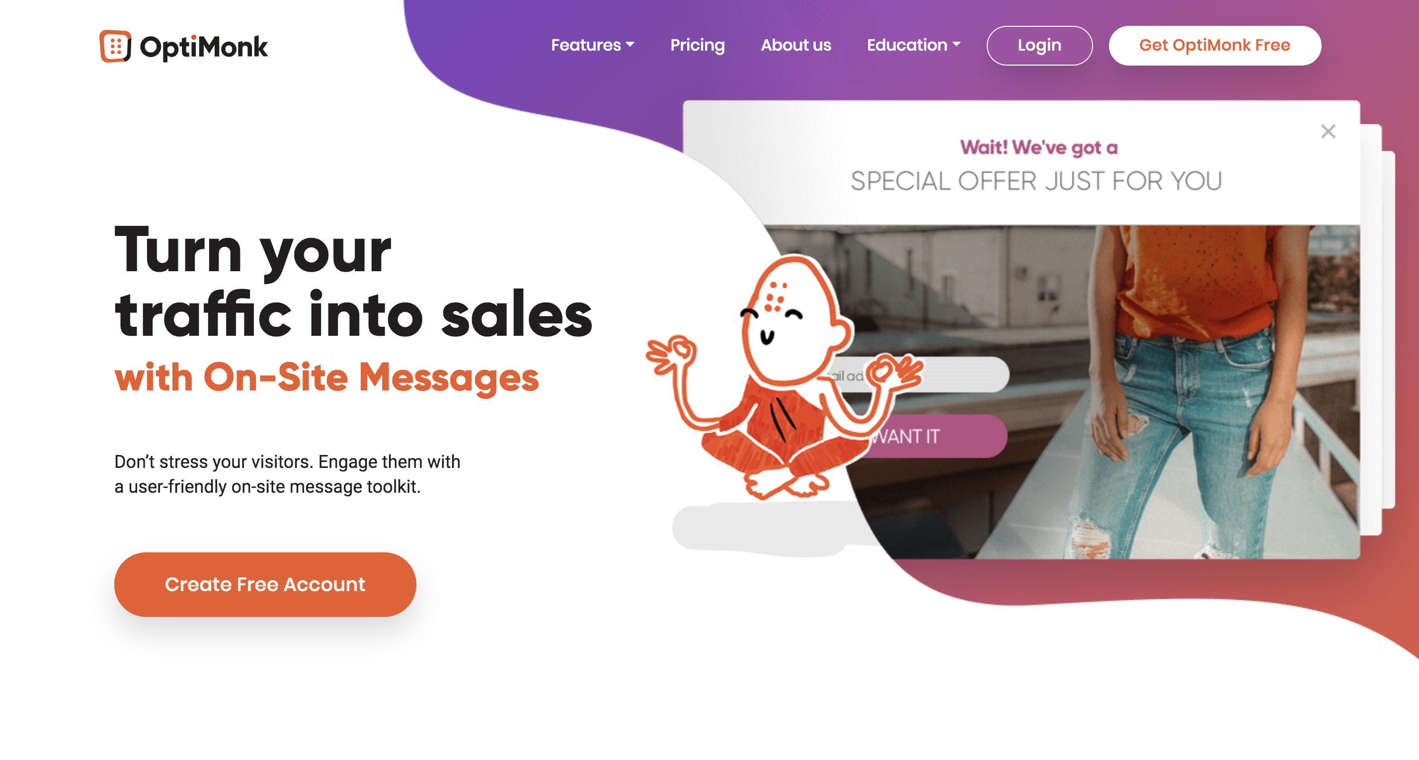 Opti Homepage
