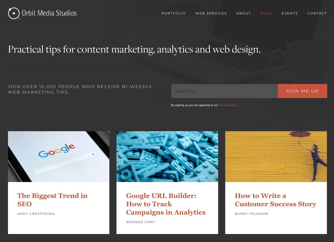 Orbit Media Studios Blog