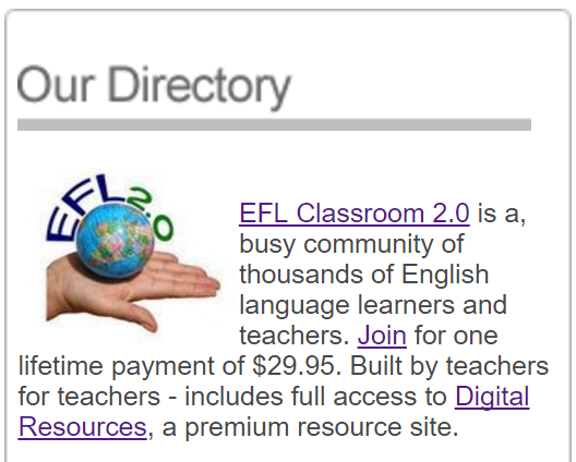 Our Directory ad
