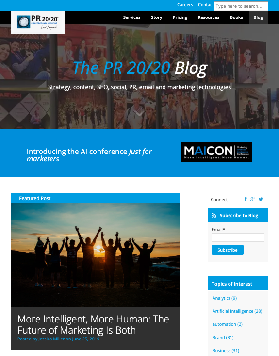 PR 2020 Blog