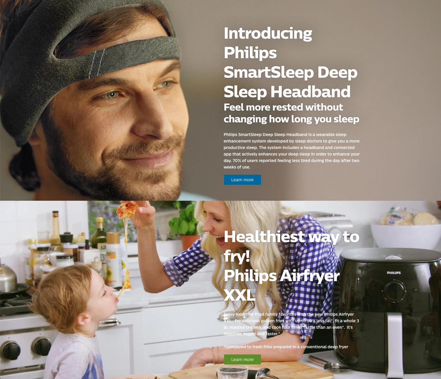 Philips-website