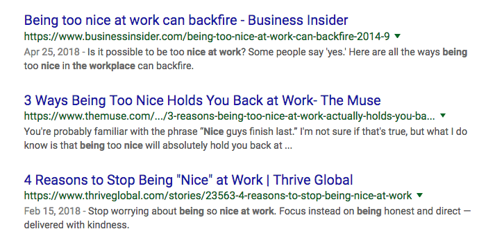Being Nice At Work As A Leader Doesnt Hold You Back