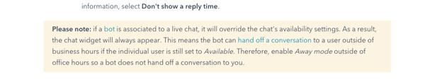 hubspot conversations alert