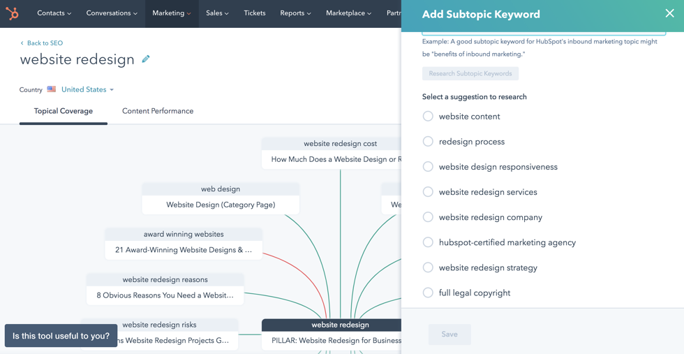 New HubSpot SEO Updates Make it Easier to Know What Content to Create