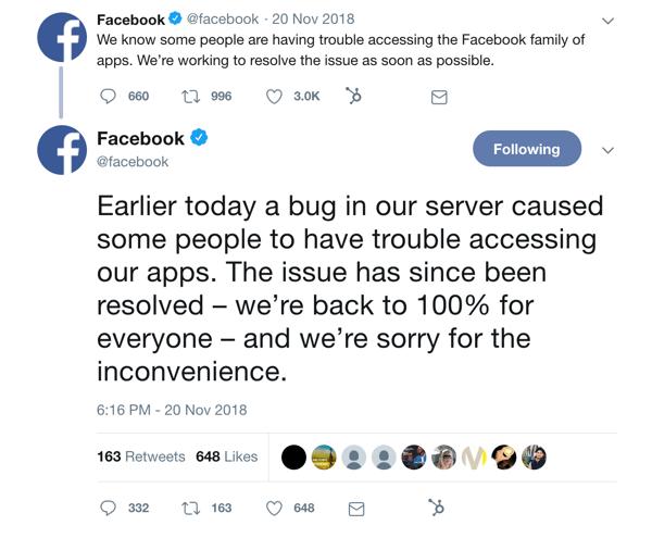 facebook update 2018