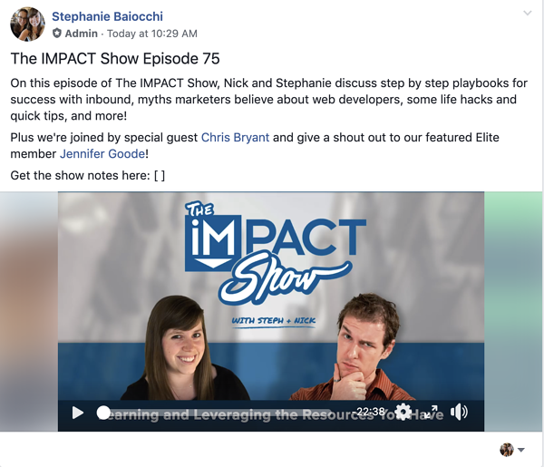 the impact show episode 75
