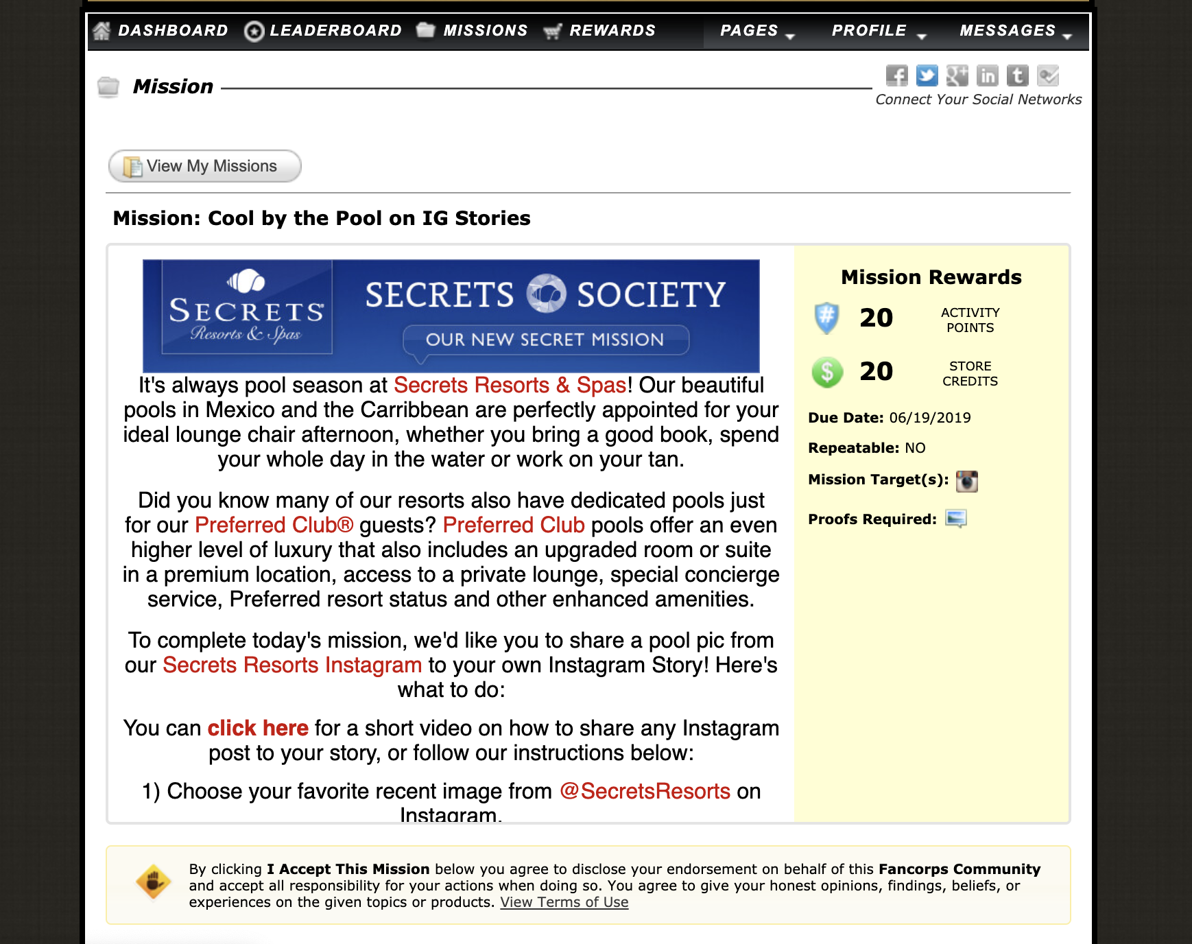 secrets society example