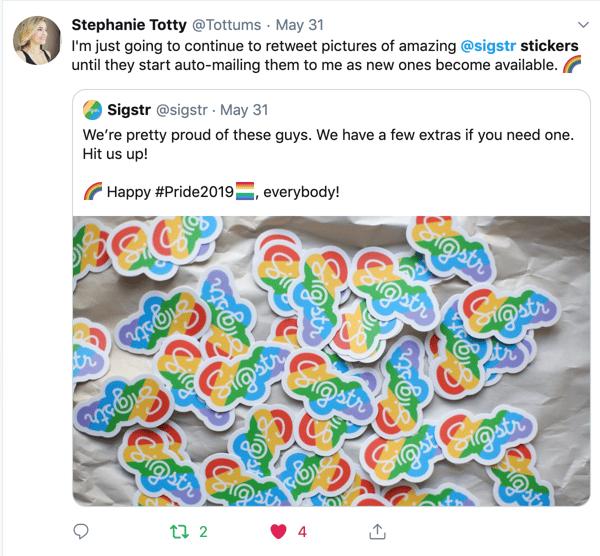 sigstr pride stickers