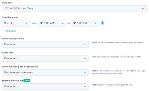 hubspot-meeting-link-settings