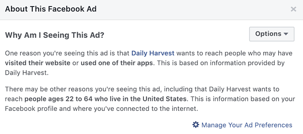 """Facebook Expands """"Why Am I Seeing This Ad"""" Feature to Provide More Detailed Insights to Users"""