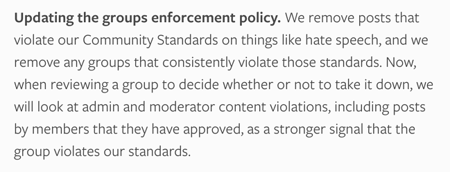group enforcement policy