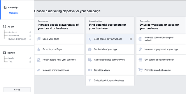 Facebook Remarketing Campaign
