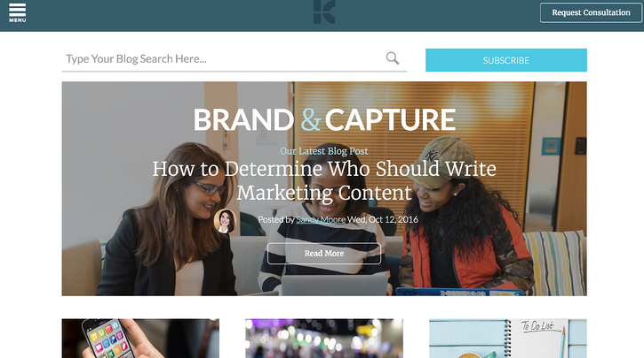 Kuno Creative inbound marketing blogs