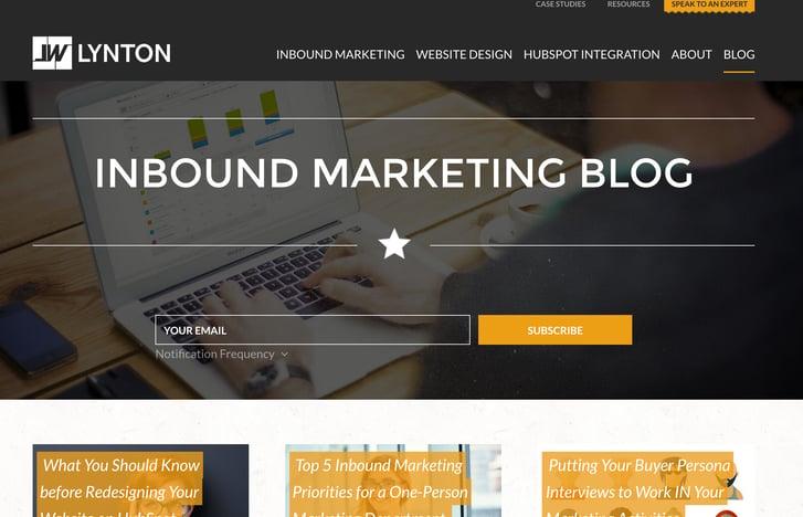 inbound marketing blogs