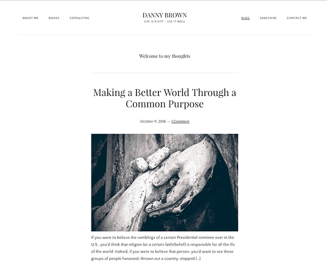 Danny Brown inbound marketing blogs