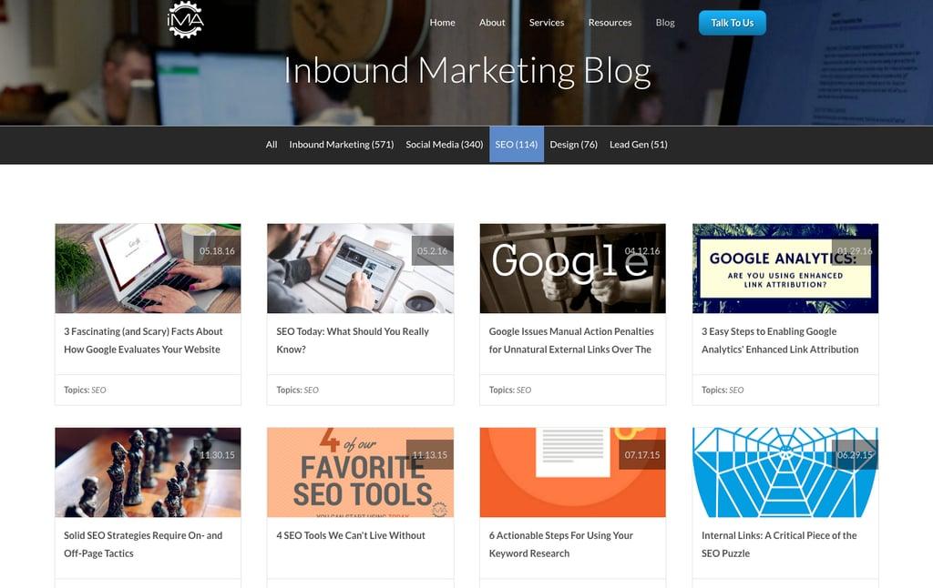 Inbound Marketing Agents inbound marketing blogs