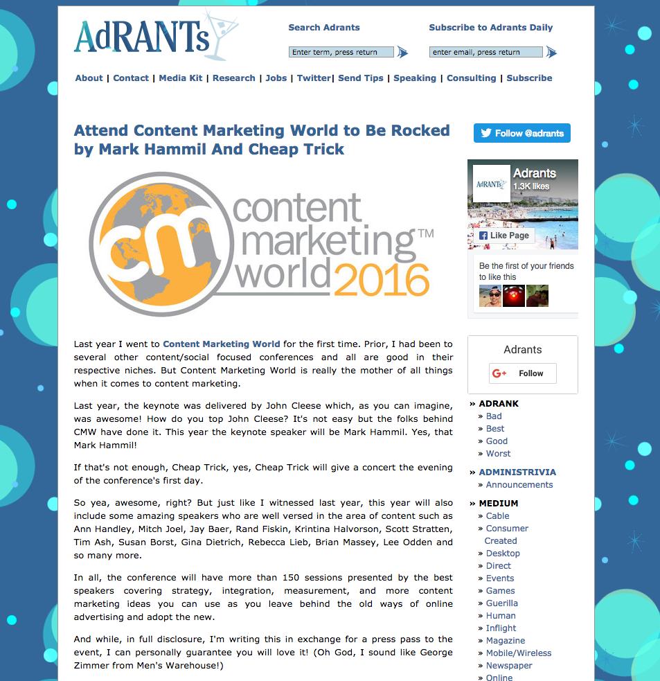 Adrants inbound marketing blogs