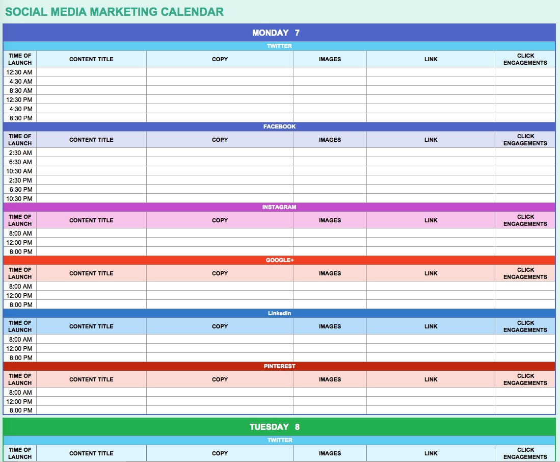 Ways Marketers Can Use Excel To Make Work Easier Free Templates