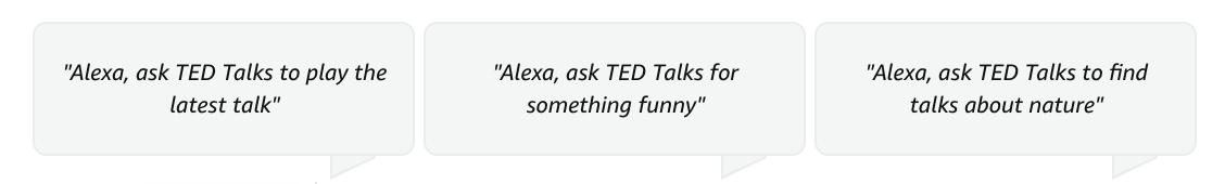 TED-Talks-Alexa-Commands