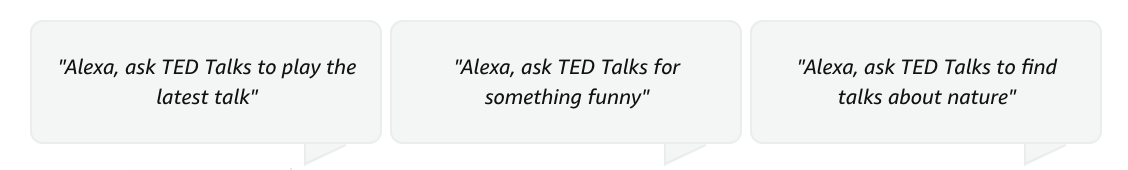 TED-Talks-Alexa-Commands