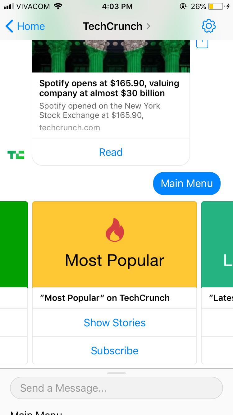 TechCrunch Chatbot